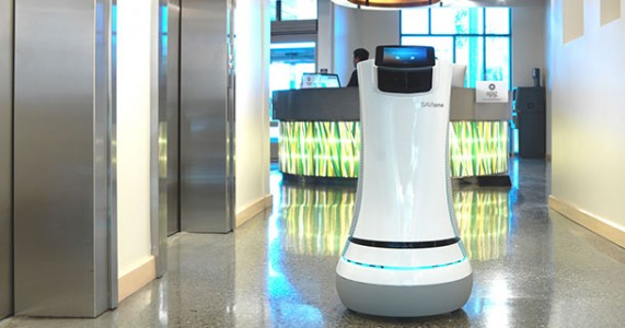 SaviOne: A Futurisic Robot Used By Aloft Hotel California For Room Service-1
