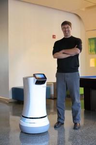 SaviOne: A Futurisic Robot Used By Aloft Hotel California For Room Service-2