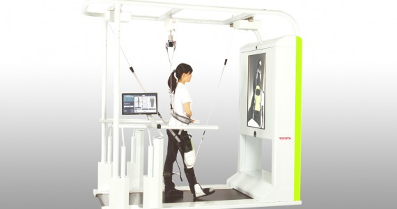 Toyota Robots Assist Paralyzed Patients In The Rehabilitation Of Their Legs-