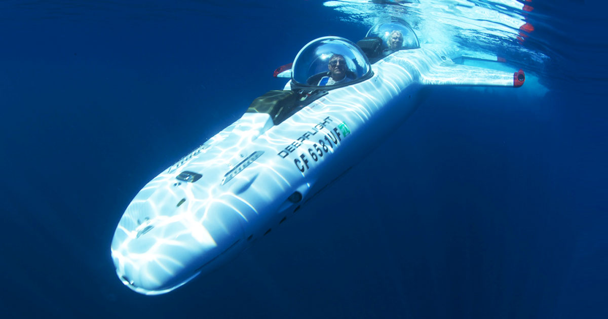 A Trendy Submarine Designed By A Former Enemy Of James Bond-