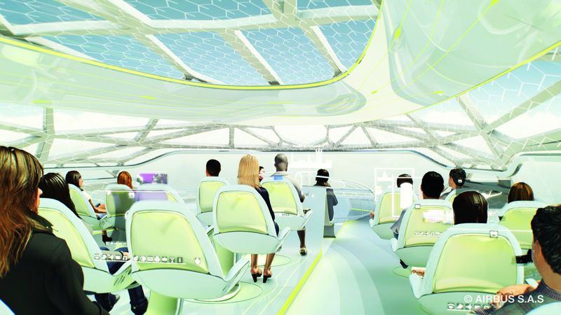 Airbus Envisions A Virtual Reality Helmet For Its Passengers-1