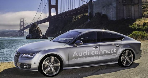 Audi Gets License To Test Drive Its First Autonomous car A7 in California-1