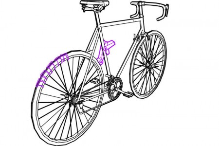 Revolution: An Interesting Bicycle That Leaves Message Of Your Choice As Trail-1