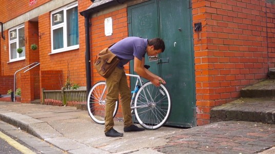 Revolution: An Interesting Bicycle That Leaves Message Of Your Choice As Trail-2