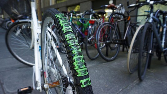 Revolution: An Interesting Bicycle That Leaves Message Of Your Choice As Trail-3
