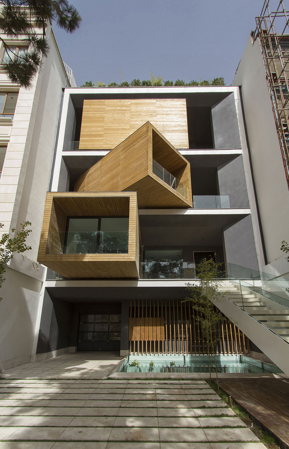 Sharifi-Ha House, Tehran, Iran, The Rooms Of This Amazing House Can Be Rotated By 90 Degrees-5