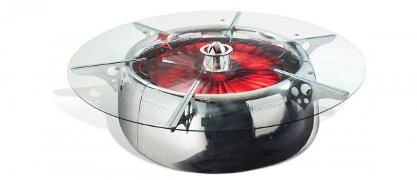 This Amazing Conference Table Is Actually A Huge Jet Engine-1