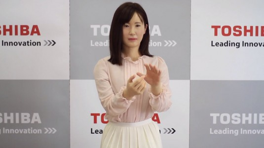 Aiko: Japanese Robot That Can Communicate With Deaf Using Sign Language-2