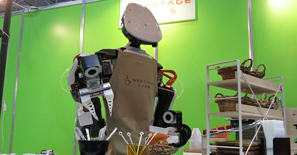 Nextage: This Robot Can Not Only Build Aircrafts But Also Serve Coffee-