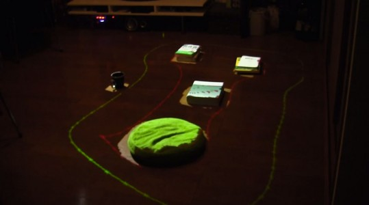 With RomoCart, Turn Your Room Into An Augumented reality Video Game-