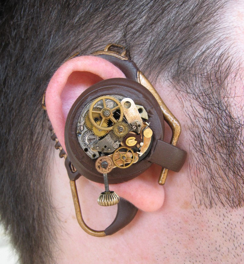 Steampunk headphones-20 Stylish Audio Headphones To Enjoy Your Favorite Music-4