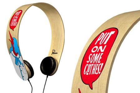 A wooden headphone of la Parra brand -20 Stylish Audio Headphones To Enjoy Your Favorite Music-7