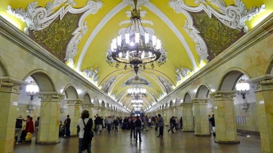 The Architecture And Beauty Of Moscow's Metro System Will Surely Blow You Away-4