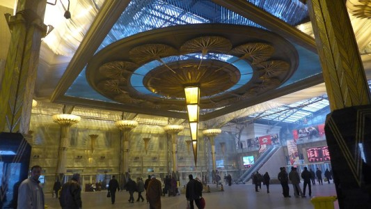 A station in Cairo, Egypt-25 Most Beautiful Subway Stations Around The World (Photo Gallery)-16