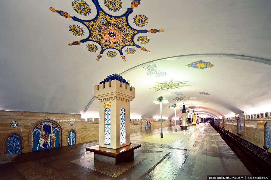 Kremlevskaya station in Kazan, Russia-25 Most Beautiful Subway Stations Around The World (Photo Gallery)-17