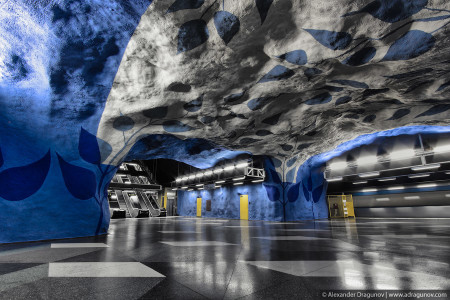 T-Centralen station in Stockholm, Sweden-25 Most Beautiful Subway Stations Around The World (Photo Gallery)-9