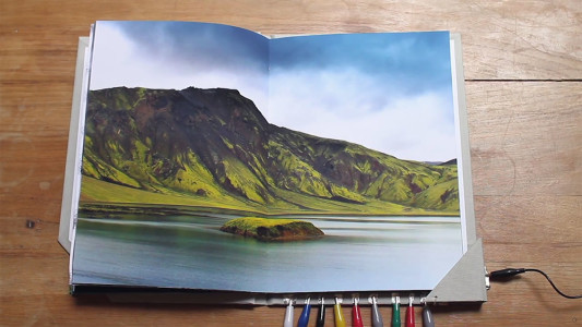 This Mindblowing Book Album Lets You See And Hear Landscapes Of Iceland-4