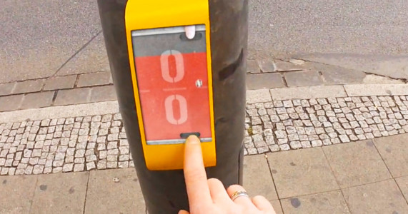 Actwait To Save Pedestrian Lives By making Them Play Pong At Crossings-
