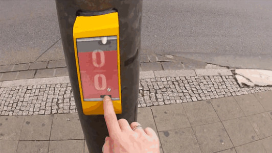 Actwait To Save Pedestrian Lives By making Them Play Pong At Crossings-2