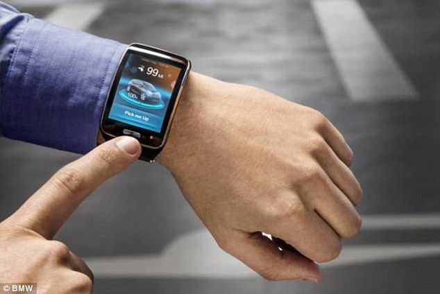 BMW's Innovative Technology Will Enable Driver To park His Car Using His Watch-