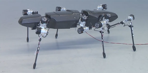 Hector: This Bio Inspired Hexapod Moves Swiftly Like A Real Insect-