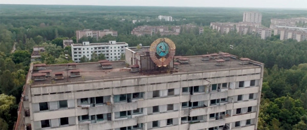 Scary Drone Video Captures Ruins of Ghost Town Of Chernobyl-