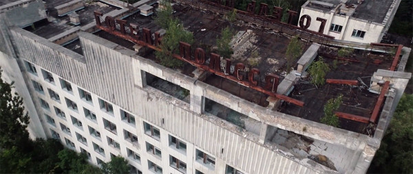 Scary Drone Video Captures Ruins of Ghost Town Of Chernobyl-2