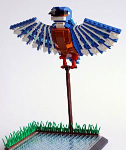 Amazing Bird Models Made Using Simple LEGO Bricks-12