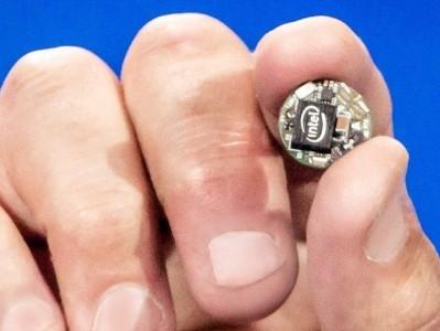 CES 2015: Intel Unveils Curie, A Computer No Bigger Than A Button-