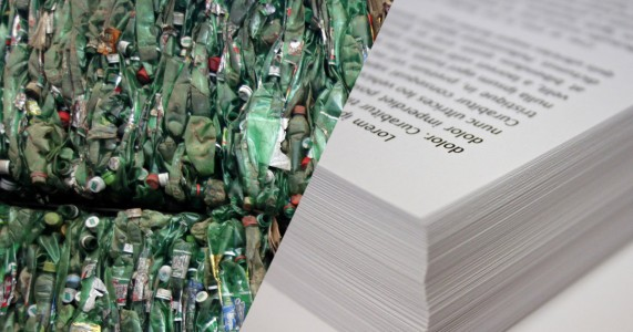 Revolutionary Technology To Produce Paper From Plastic Bottles In Trash-1