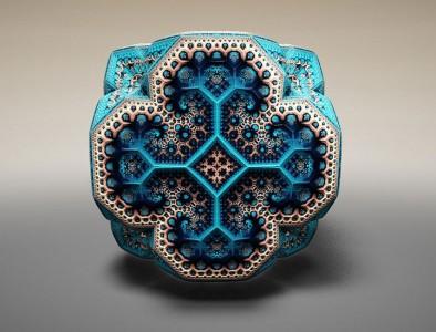 Wonderful 3D Sculptures Made Using Mathematical Formulas-10