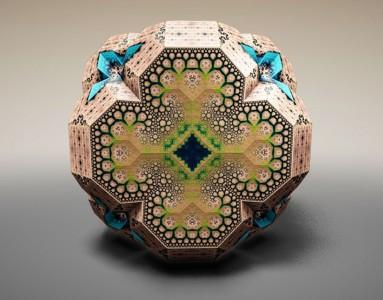 Wonderful 3D Sculptures Made Using Mathematical Formulas-8