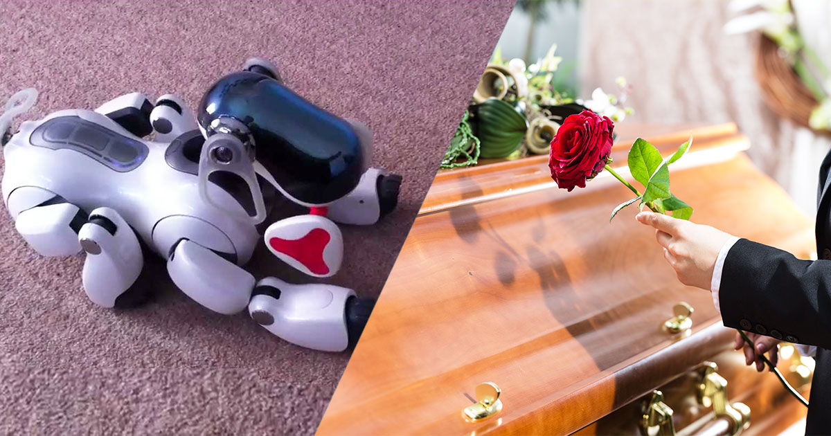 In Japan, Robot Dogs Can Now Have A Dignified Funeral Like Real Animals-5