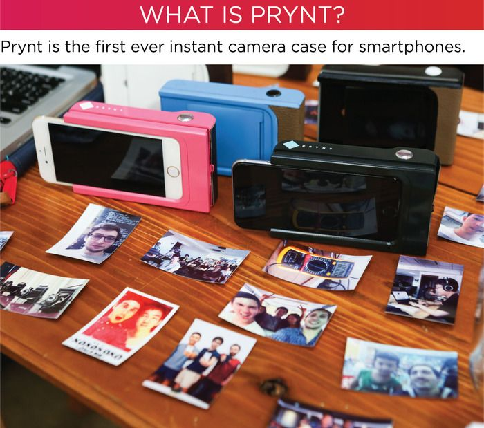 Prynt An Iphone and Android Case with built-in portable printer-1