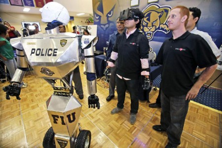 Telebot: An Amazing Robot To Assist The Policemen On The Ground-2