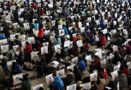 20 Mind Blowing Photos From Dreaded Chinese University Entrance Exam-