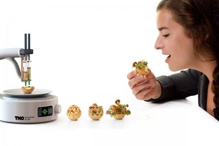 Enjoy Amazing 3D Printed Bio Food With Herbs And Mushrooms-8