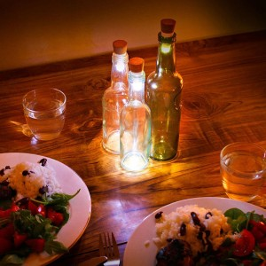 Recycle Your Glass Bottles Into Ecological And Decorative lamps-2