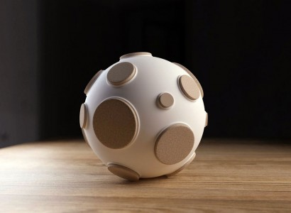 Control The Intensity Of This Innovative Moon Lamp By Plugging Craters-3