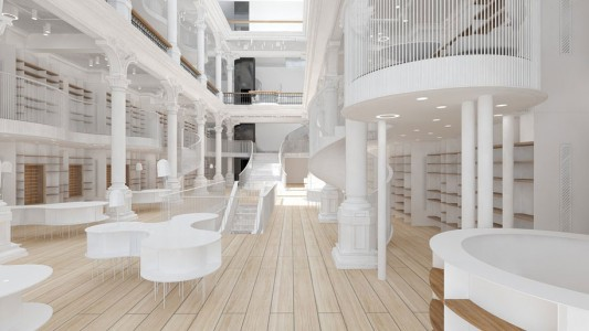 The Elegant Architecture Of This Bookstore Will Surely Blow You Away -