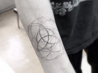 These Geometric Ink Tattoos Will Blow You Away-2