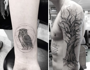 These Geometric Ink Tattoos Will Blow You Away-3