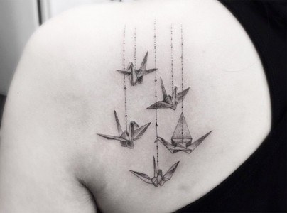 These Geometric Ink Tattoos Will Blow You Away-7