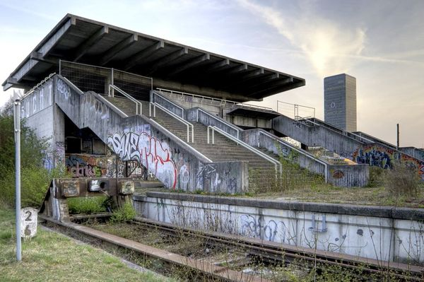 MUNICH 1972-Top 16 Haunting Photos Of Abandoned Olympic Venues-9
