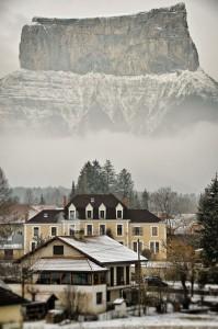 Mont Aiguille-Isère-Beautiful-France