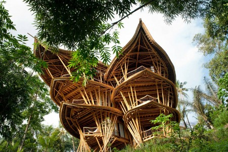 Sustainable Magic Houses In Bali, Built Using Bamboo-