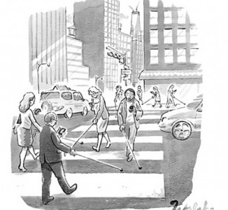 Top 15 Satirical Drawings About Addiction To Smartphones-3