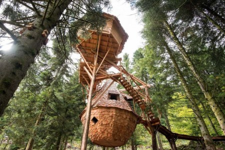 10 Dream Like Wooden Cabins Give New Look To Your Garden-3