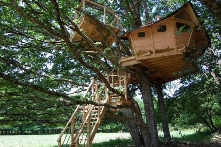 10 Dream Like Wooden Cabins Give New Look To Your Garden-5
