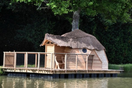 10 Dream Like Wooden Cabins Give New Look To Your Garden-6
